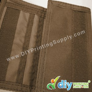 Nylon Wallet (Brown)