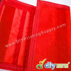 Nylon Wallet (Red)