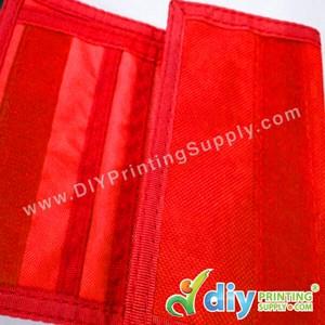 Nylon Wallet (Red)