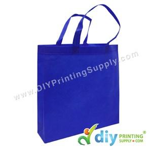 Non-Woven Bag (Large) (L35 X H35 X D9cm) (80Gsm) (Blue)