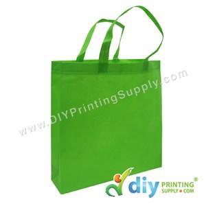 Non-Woven Bag (Large) (L35 X H35 X D9cm) (80Gsm) (Green)