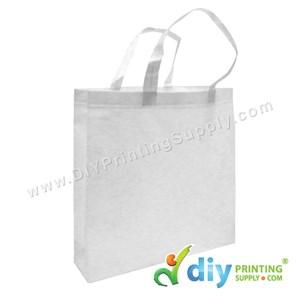 Non-Woven Bag (Large) (L35 X H35 X D9cm) (80Gsm) (White)