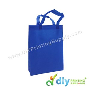Non-Woven Bag (Small) (L25 X H33 X D7cm) (80Gsm) (Blue)