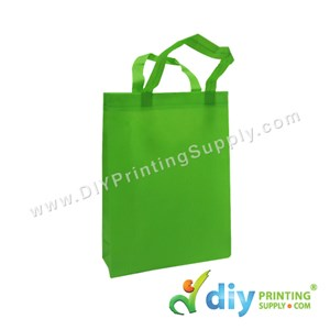 Non-Woven Bag (Small) (L25 X H33 X D7cm) (80Gsm) (Green)