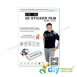 3D Film Paper 120Gsm (Glossy) (A4) (10 Sheets/Pkt)
