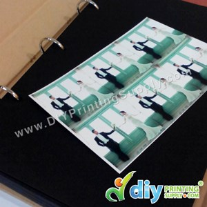 DIY Photo Album (27 X 20 X 4cm) (Black) (60 Pages)
