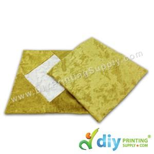 Cushion Cover (Square) (Premium Gold) (40 X 40cm)
