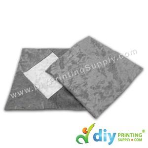 Cushion Cover (Square) (Premium Silver) (40 X 40cm)
