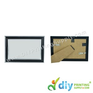 Photo Frame [Black] (With Stand & Hanger) (4R) (18 X 15cm)