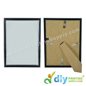 Photo Frame [Black] (With Stand & Hanger) (A4) (30 X 21cm)