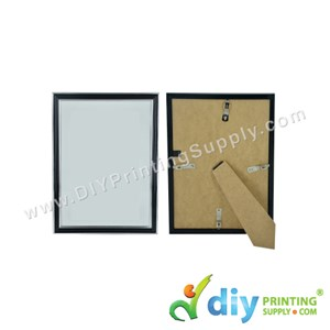 Photo Frame [Black] (With Stand & Hanger) (A5) (21 X 15cm)