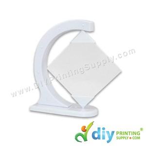 Glass Frame With Rotating Diamond (4mm) (13 X 13cm)