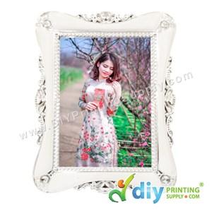 Photo Frame (Aluminium) [Classic] (With Stand) (B6) (17 X 12.5cm)
