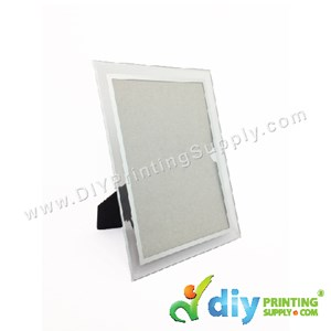 Photo Frame [Glass] (With Stand) (4R) (18 X 15cm)