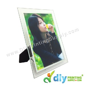 Photo Frame [Glass] (With Stand) (A5) (21 X 15cm)