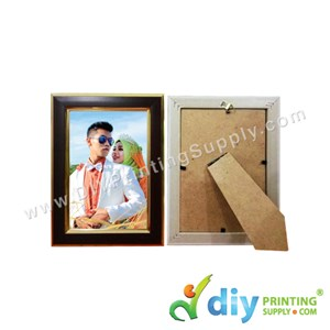 Photo Frame [Wooden] (With Stand) (4R) (18 X 15cm)