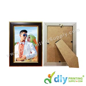 Photo Frame [Wooden] (With Stand) (A5) (21 X 15cm)
