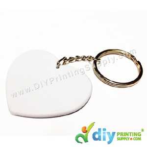 Polymer Keychain (Love) (53 X 43mm)