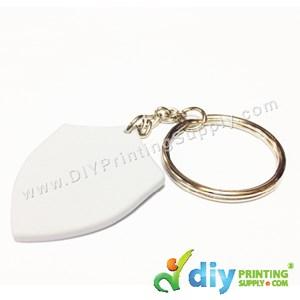 Mini Polymer Keychain (Badge) (40 X 32mm)