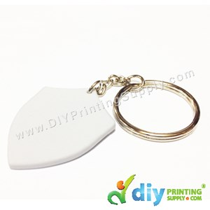 Mini Polymer Keychain (Badge) (40 X 32mm)