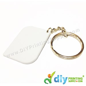 Mini Polymer Keychain (Square) (40 X 28mm)