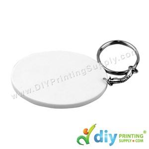 Polymer Keychain (Oval) (65 X 47mm)