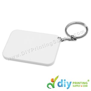 Polymer Keychain (Rectangle) (67 X 47mm)