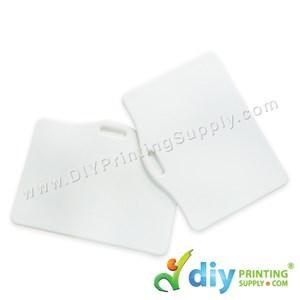 Polymer Name Badge (90 X 67 X 3mm)
