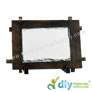 Photo Rock (Wooden Frame) (Matte) (26 X 19cm)