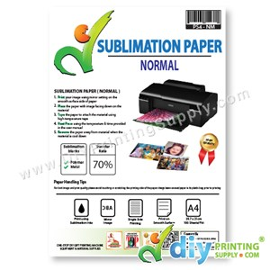 Sublimation Paper (Normal) (A4) (100 Sheets/Pkt) [70% Transfer]