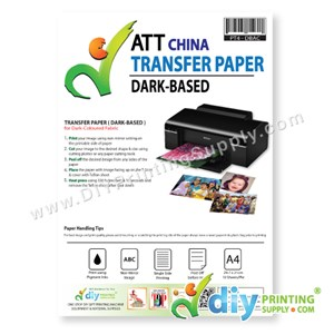 Transfer Paper (Dark-Based) (A4) (ATT) (China) (10 Sheets/Pkt) (Not Applicable for Clear Transfer Tape)