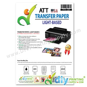 Transfer Paper (Light-Based) (A4) (ATT) (USA) (10 Sheets/Pkt) [Hot Peel]