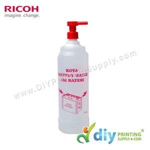 Battery Water (1 Litre) for Pre-Treatment Machine