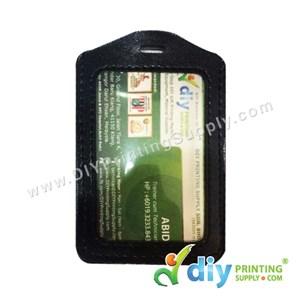 Card Holder (Leather) (Portrait) (Black) (86 X 54mm) (20 Pcs/Pkt)