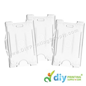 Card Holder (Hard Cover) (Portrait) (Transparent) (86 X 54mm) (20 Pcs/Pkt)