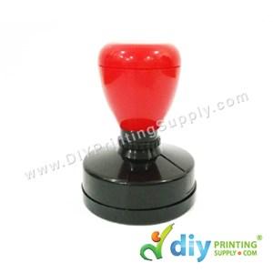 Rubber Stamp Chop (Round) (Self Inking) [Adjustable] (4.2cm) (L)