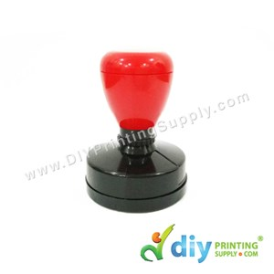 Rubber Stamp Chop (Round) (Self Inking) [Adjustable] (3.8cm) (M)