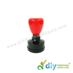 Rubber Stamp Chop (Round) (Self Inking) [Adjustable] (3.3cm) (S)