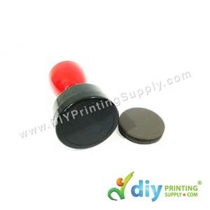 Rubber Stamp Chop (Round) (Self Inking) [Adjustable] (3.3cm) (S)