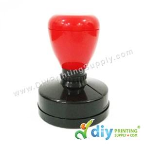 Rubber Stamp Chop (Round) (Self Inking) [Adjustable] (5.1cm) (XXL)