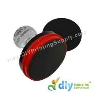 Rubber Stamp Chop (Round) [Non-Adjustable] (4.5cm) (L)