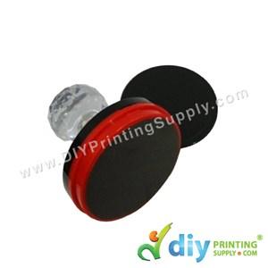 Rubber Stamp Chop (Round) [Non-Adjustable] (4.2cm) (M)