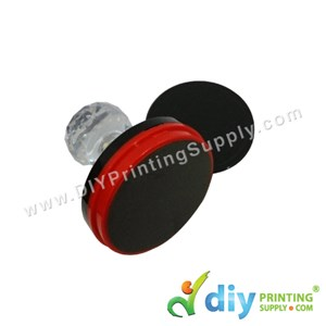 Rubber Stamp Chop (Round) [Non-Adjustable] (3.8cm) (S)