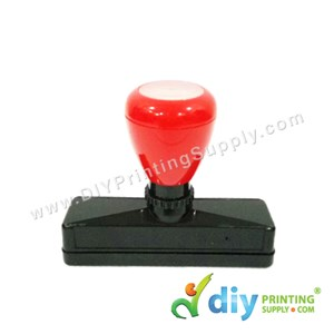 Rubber Stamp Chop (Rectangle) (Self-Inking) [Adjustable] (1.5 X 8cm) (L)
