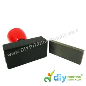 Rubber Stamp Chop (Rectangle) (Self-Inking) [Adjustable] (3.2 X 6.7cm) (XXL)