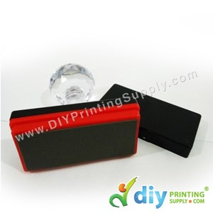 Rubber Stamp Chop (Rectangle) [Non-Adjustable] (2.5 X 6cm) (XL)