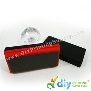 Rubber Stamp Chop (Rectangle) [Non-Adjustable] (3 X 6cm) (XXL)