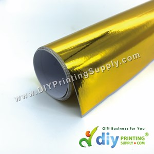 Self-Adhesive Film (Gold) (Glossy) (1M X 40cm)