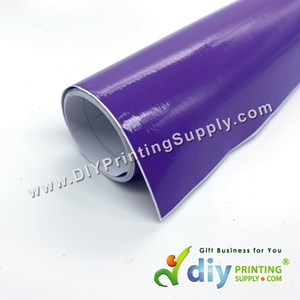 Self-Adhesive Film (Purple) (Glossy) (1m X 40cm)