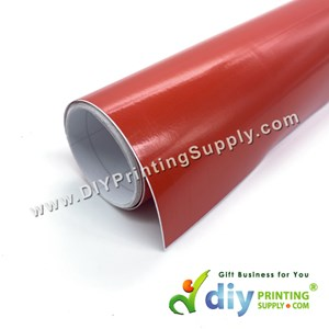 Self-Adhesive Film (Red) (Glossy) (1m X 40cm)